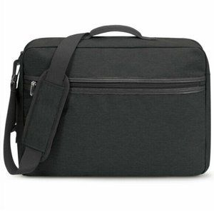BLANKSLATE Solo Hybrid Convertible Briefcase Black